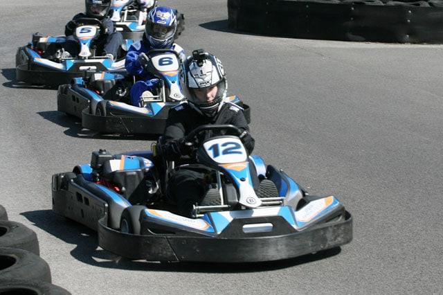Outdoor Karting at Castle Combe is as real as kart racing gets!