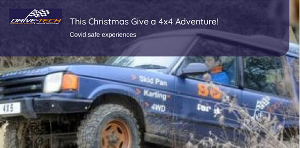 4x4 experience gift