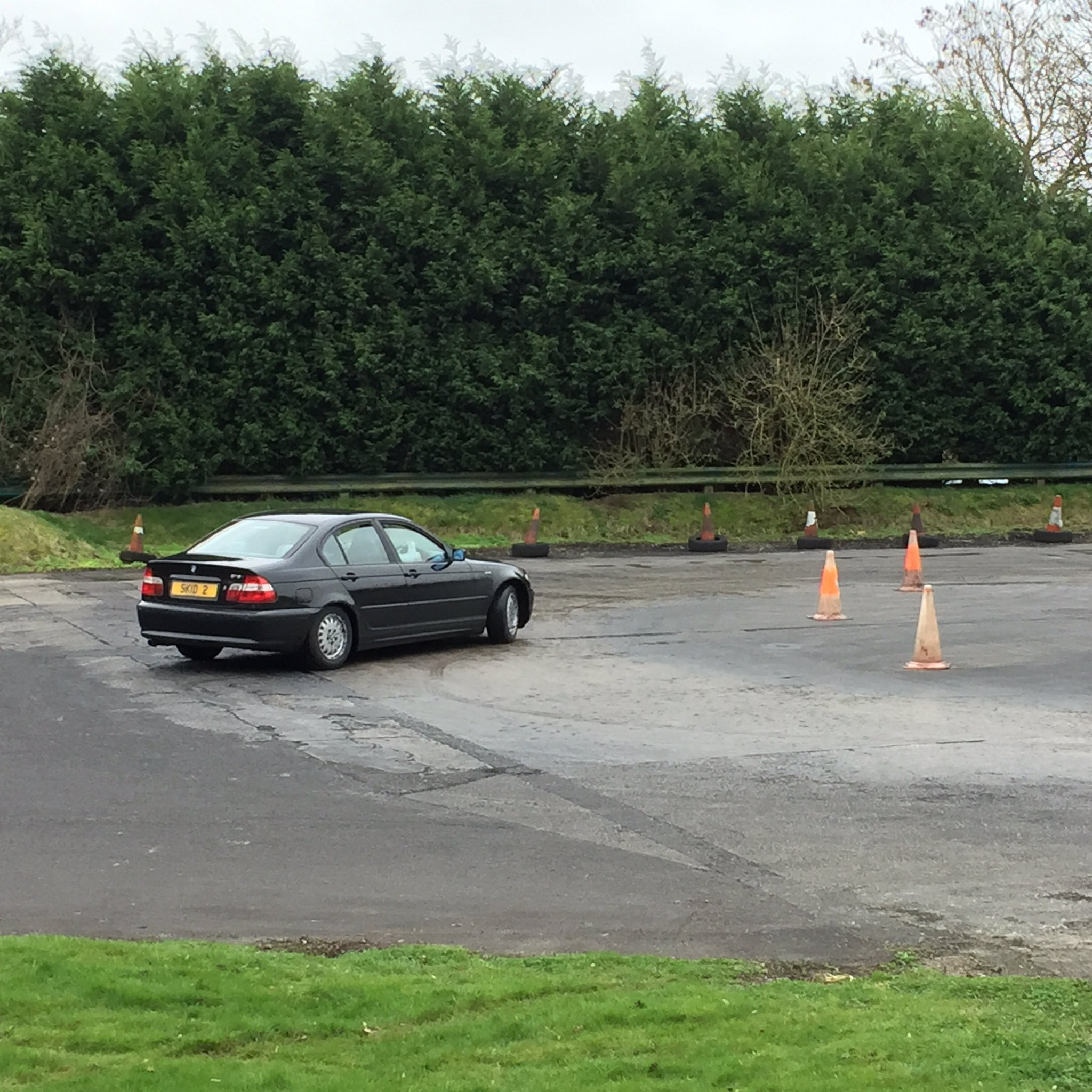 skid pan training course