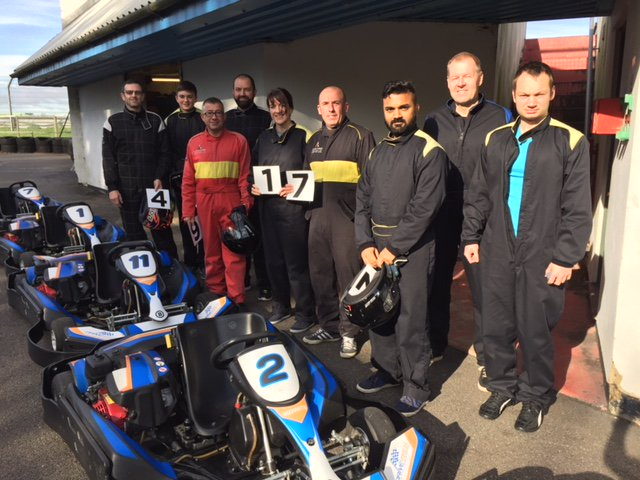group go karting in wiltshire