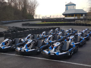 Go Karting at Castle Combe Circuit