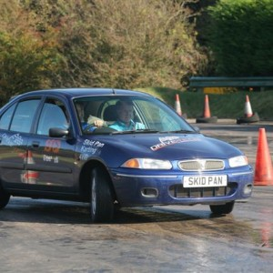 Skid Pan training