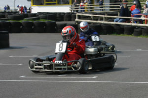 parent and junior karting