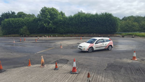 skidpan training